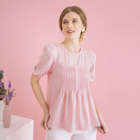 Chocochips - Meghan Top Pink/Atasan Wanita - Merah Muda, S