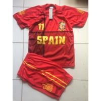 Baju bola anak Euro 2020 - Spanyol, Size 18