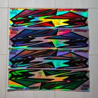 stiker striping motor yamaha rx king 2002 variasi hologram