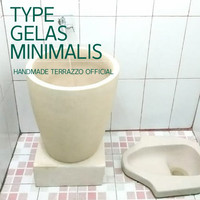 Bak Mandi Terrazzo Type Gelas Minimalis