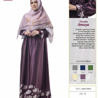 Rabbani Dresslim Amuya Gamis Baju Muslim Wanita Dewasa