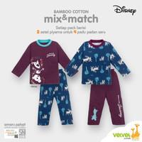 Bamboo Cotton Mix & Match Disney Original Frozen II Boy Series