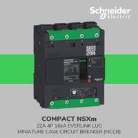 Breaker NSXm 25kA TM32D 4P/3T Elink SCHNEIDER LV426212