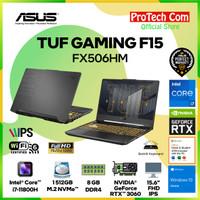 ASUS TUF F15 FX506HM i7-11800H 8GB 512GB SSD RTX3060 6GB OHS W10 144Hz