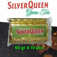 Cokelat Silverqueen Green Tea 65 gr (10 pcs)