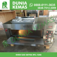 GETRA RFL-12SSGC GAS BAKING OVEN / OVEN PEMANGGANG ROTI 1 DECK 2 TRAY - Oven Getra