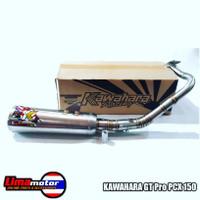 Knalpot KAWAHARA GT PRO PCX 150 & ADV 150