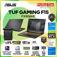 ASUS TUF F15 FX506HC i5-11400H 8GB 512GB RTX3050 4GB OHS W10 144Hz