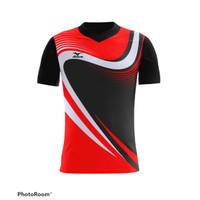 Jersey kaos baju printing badminton tenis volly futsal TRMZ