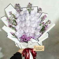 money bouquet Uang Asli buket Premium Paper Fresh Flower