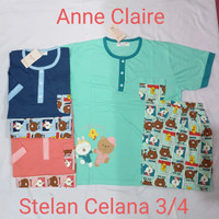 Anne Claire Babydoll Celana 3/4
