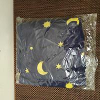 cover sprei waterproof anti air kasur matras bayi 105x70 cm warna biru