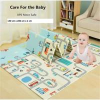 PLAYMAT ANAK - Tikar Lipat Matras Anak Bayi 200 x 150 cm