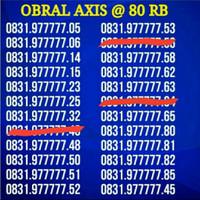 Nomor Cantik Axis 77777xx MURAH