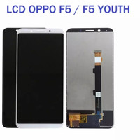 LCD TOUCHSCREEN LCD TS FULLSET OPPO F5 F5 YOUTH OLED ORIGINAL