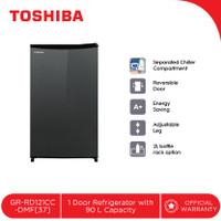 TOSHIBA Kulkas 1 Pintu GR-RD121CC-DMF[37] Kapasitas 90L