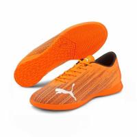 Sepatu Futsal PUMA ULTRA 4.1 IT Shocking Orange-Puma Black 106096 01