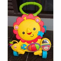 Baby Push Walker Lion Fisher Price Bekas