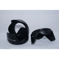 Lens Hood dan Filter 62mm Canon Nikon Sony SLR Tamron 18-200 70-300
