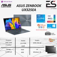 Asus Zenbook UX325EA OLED551 OLED i5 1135G7 8GB 512ssd IrisXe W10+OHS