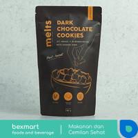 Melts Dark Chocolate Cookie / Cookies coklat snack sereal diet sehat