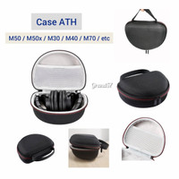tas case headphone headset ath m50 m50x m30 m40 m70 audio technica