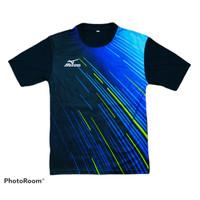 Jersey kaos baju printing badminton tenis volly futsal TR-MZ - TRMZ-003, M