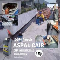 Aspal Cair 1 KG Cat Anti Bocor Lantai Kolam Genteng Atap Dak