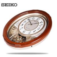 Jam Dinding Seiko Original Kayu QXM351 Melody in Motion