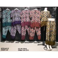 Setelan Kulot Jumbo Baby Doll Daster Baju Tidur Batik Pekalongan 8