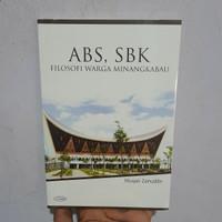 ABS SBK Filosofi Warga Minangkabau - Musyair Zainuddin Buku Asli