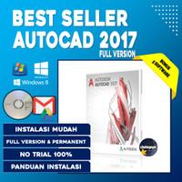 Software Design CAD 3D AutoCAD 2017 Final Full Version + Panduan