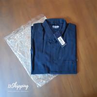 Kemeja Shirt Lengan Pendek Original 17SEVEN Black Hitam