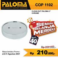 PALOMA PENUTUP LUBANG SEPTIC TANK BAK KONTROL 3 inch COP 1102 KUNINGAN