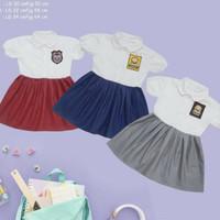 Baju seragam anak balita baby SD SMP SMA Setelan dress boy girl ori