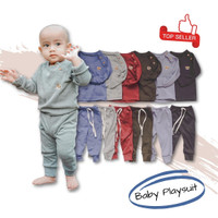 Setelan Piyama Bayi Laki Laki Perempuan Baju Tidur Baby Lengan Panjang