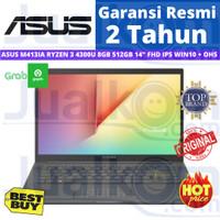 ASUS Vivobook M413IA RYZEN 3 4300U 8GB 512GB Vega5 14 FHD IPS W10 OHS