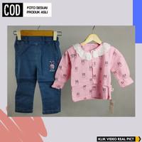 Baju Anak Perempuan Import Setelan Anak Perempuan Setelan Jins Anak
