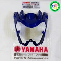 Batok Lampu Yamaha Vixion New 2013 1PA PUTIH ASLI - Biru