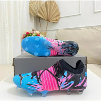 sepatu bola puma future z blue pink