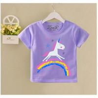 kaos anak perempuan/baju anak perempuan kuda poni