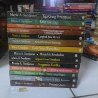 Novel pengarang MARIA A SARDJONO