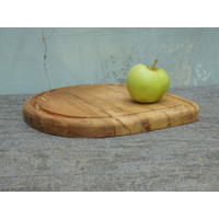 Talenan Kayu Jati Tear Drop / Wooden Cutting Board / Talenan Unik