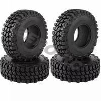 4pcs Ban RC Crawler Tires 110mm Soft Rubber 1.9 1/10 SCX10