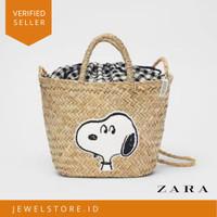 Zara x Snoppy Peanuts Bag Tas Keranjang