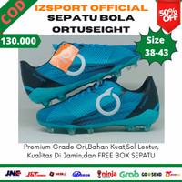 Sepatu Sepakbola Sepak Bola Ortus Ortuseight Ori Original Murah - Biru, 38