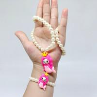 Mainan Anak perempuan - Kalung anak Mermaid + Gelang (1 set)