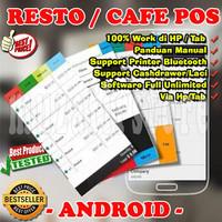 Software Kasir Resto dan Cafe Untuk HP Android