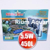 Filter Gantung BIG Aquarium Aquascape Big NIKITA STAR NS07 NS 07