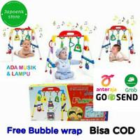 Play Gym Musical Maenan Anak Bayi Edukasi Baby newborn